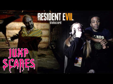 Austin Creed & Oh Boy... RUN FOR THEIR LIVES in Resident Evil 7: Biohazard!!!— Jump Scares