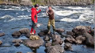 Рыбаки в Умбе.