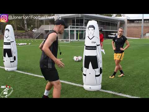 FULL soccer training session with international player | Matilda Georgia YD | Joner 1on1