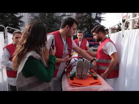 Özel Ümit Vişnelik Hastanesi Yangın Tatbikatı