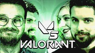 Der Kampf der Giganten: RBTV & Bonjwa vs. GameStar | Valorant