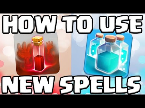 How To Use CLONE SPELL And SKELETON SPELL In Clash Of Clans