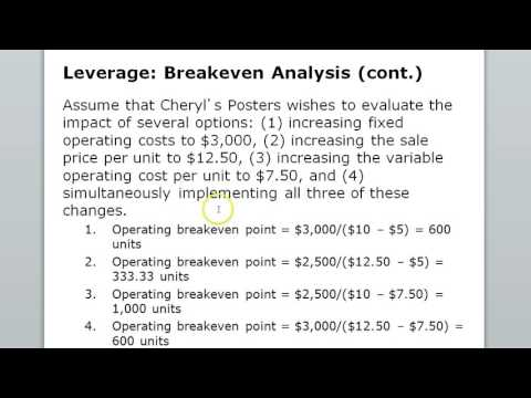 Leverage & Capital Structure Chap 13
