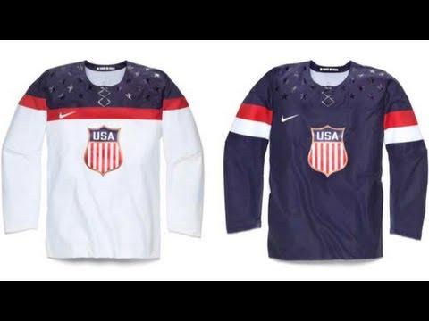 Sochi Olympics Team USA Jerseys