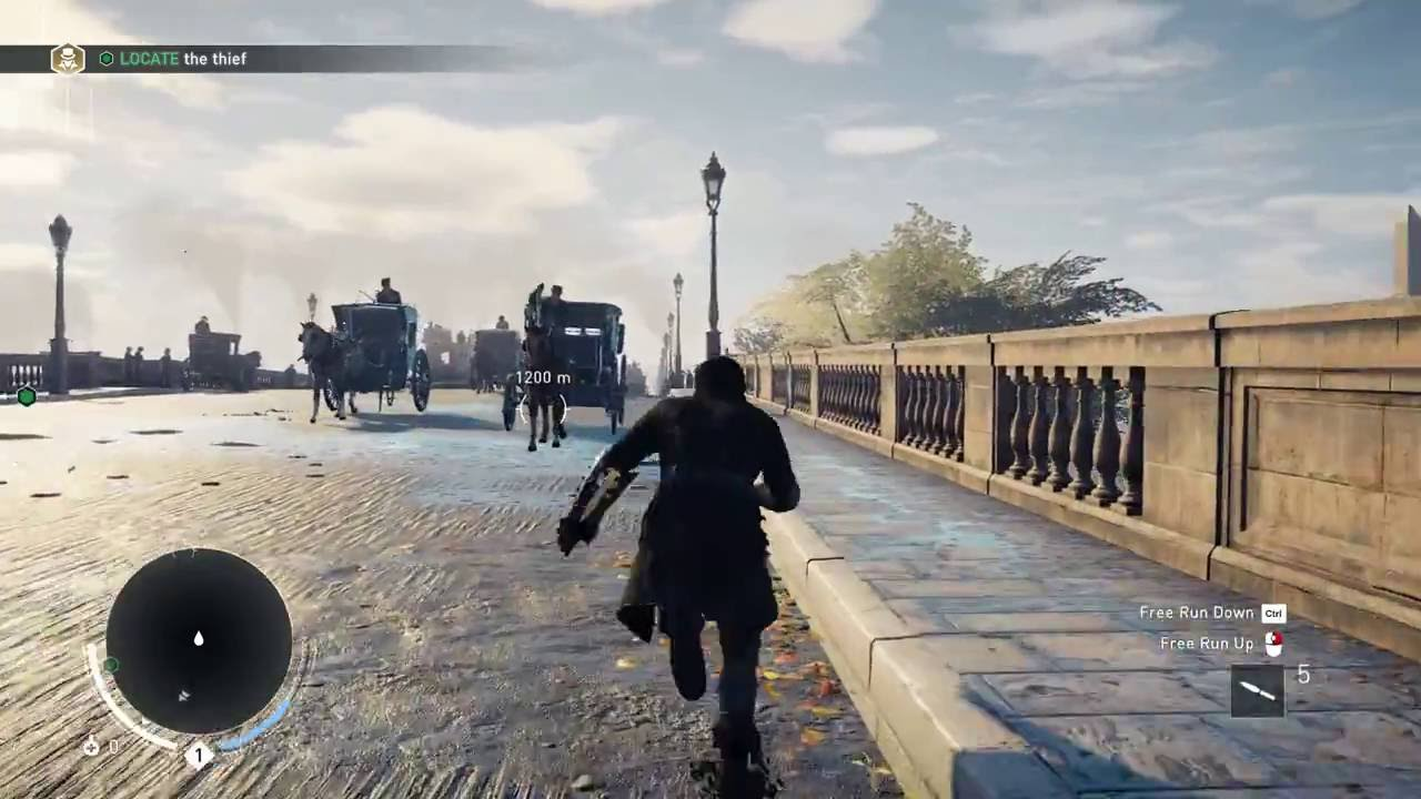 How Big Is The Map In Assassin S Creed Syndicate Run Across The