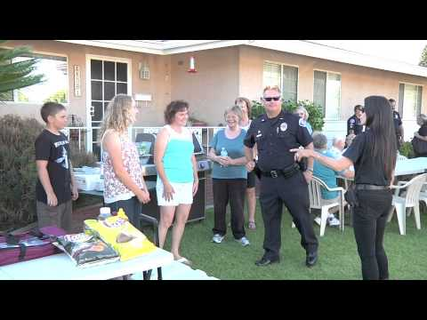 Garden Grove PD joins National Night Out