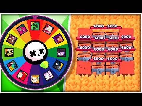 Random Brawler Rush The Middle Challenge! - Feast Or Famine Gameplay! - Brawl Stars
