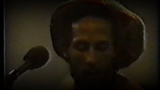 Bob Marley - Miami Criteria Studios Rehearsal 09/14/80