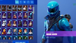 New Honor Guard Skin Unlocked In Fortnite! Going Pro! (New Fortnite Honor Guard Skin Unlocked)