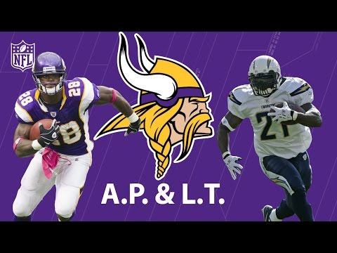 Legend for Hire: How LaDainian Tomlinson Almost Teamed Up with Adrian Peterson   NFL Now