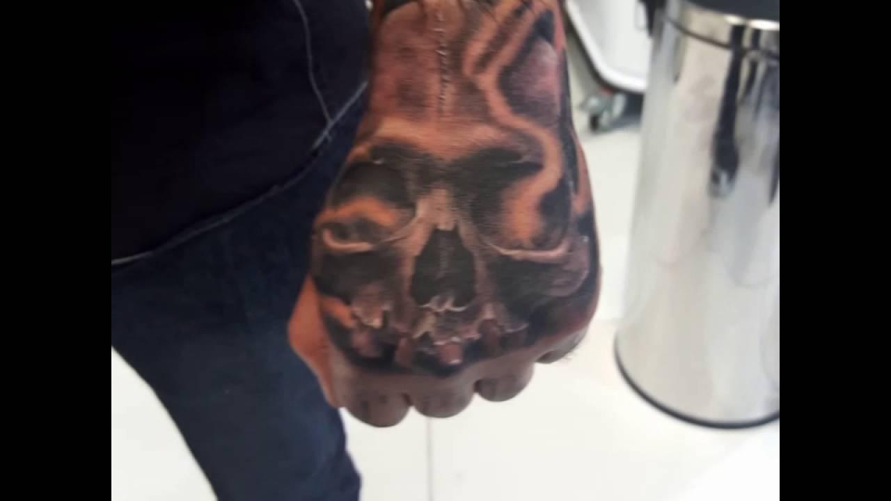 Cristattoos 763 Tattoo Calavera Youtube
