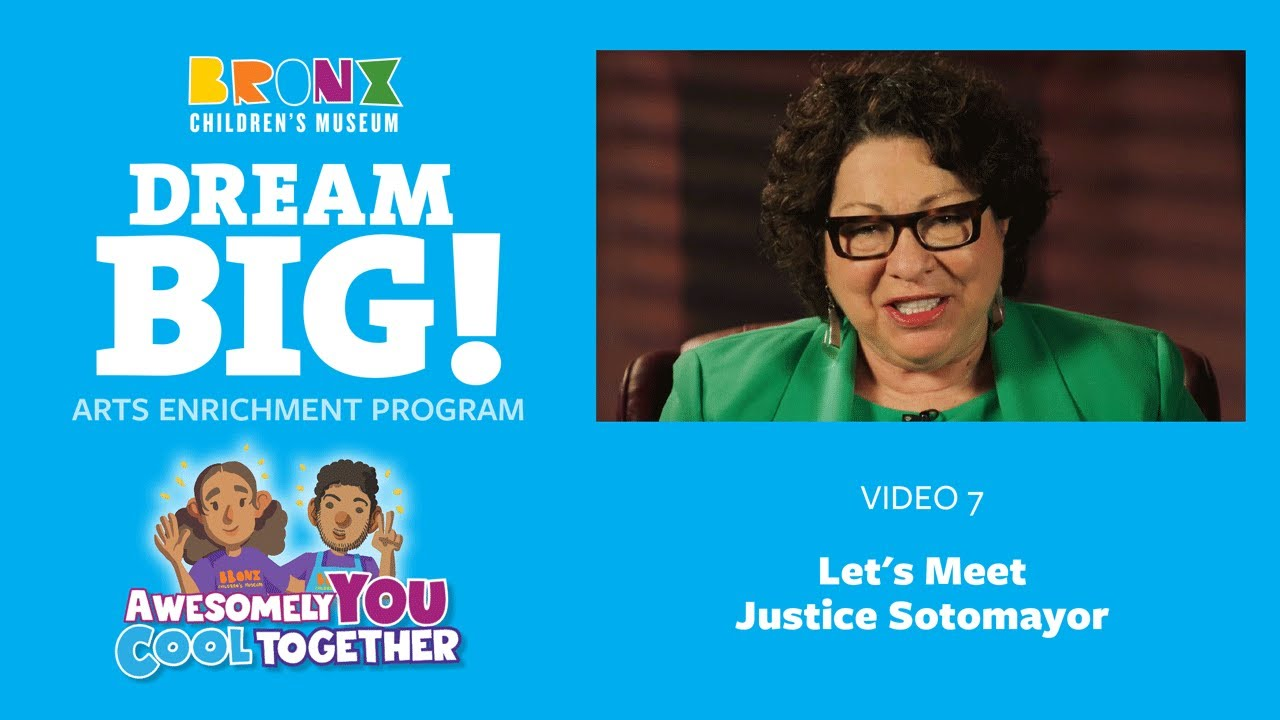 2. Let's Meet: Justice Sotomayor