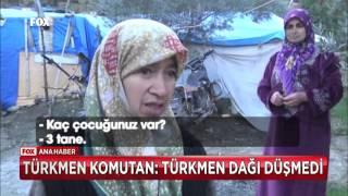 Türkmen komutan: Türkmen dağı düşmedi