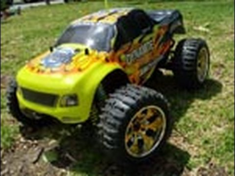 a-fast-rc-truck!