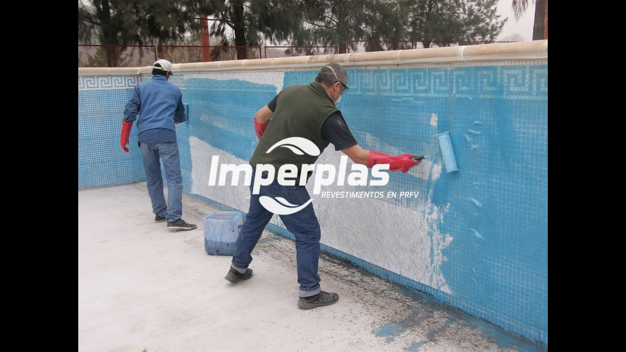 Reparaci n de piscina de hormigon de 930m2 imperplas for Productos sika para piscinas