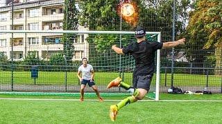 SCHWINDELIGE FUßBALL CHALLENGE !