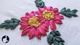 A basic stitch that enables you to create a wide variety of flowers...