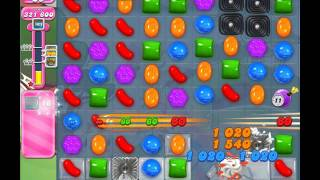 Candy Crush Saga Level 1145 ( New with 12 Moves Candy Bombs ) No Boosters 1 Star.