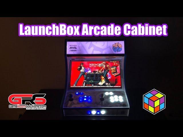 LaunchBox Powered Bartop Arcade Cabinet