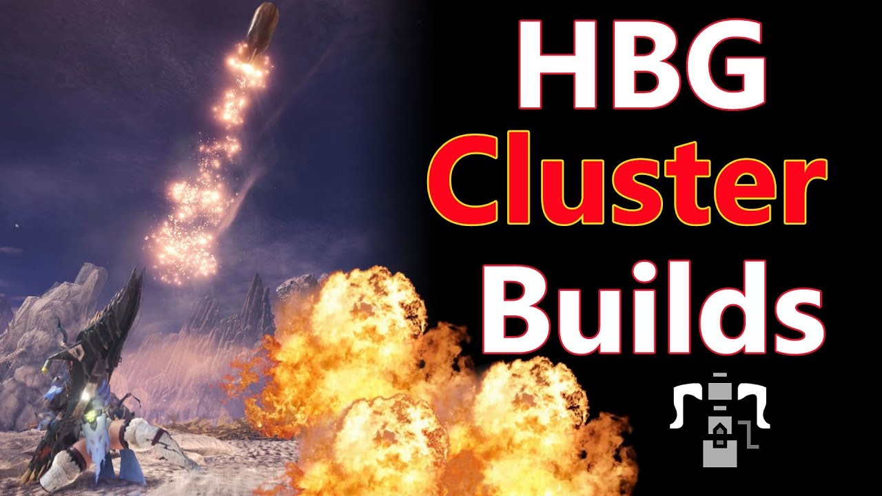 MHW: HBG Cluster Build DPS MIXED SET | Guide/tutorial