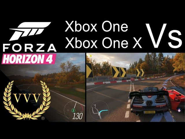 comparing forza horizon 4 across pc xbox one xbox one x. Black Bedroom Furniture Sets. Home Design Ideas