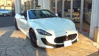 マセラティ・グランカブリオMC  中古車試乗インプレッション  Maserati Grancabrio MC