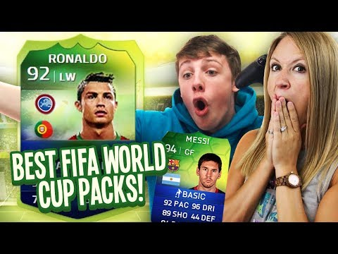 BEST THROWBACK WORLD CUP PACKS ft RONALDO & MESSI!
