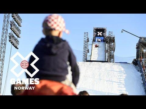 Henrik Harlaut wins Men's Ski Big Air silver | X Games Norway 2018