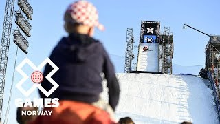 Henrik Harlaut wins Men's Ski Big Air silver | X Games Norway 2018