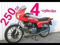 The Best of 250cc 4-cylinder Motorcycles !