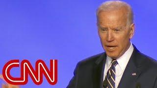 Joe Biden jokes about having 'permission to hug'
