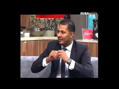 Kamal Saleh interview on Dubai one TV, sutdio one live show