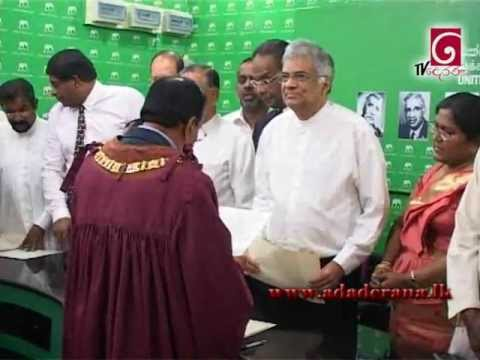 Muzammil sworn in as Colombo Mayor