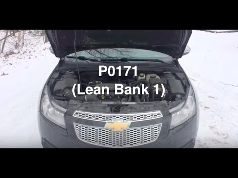 P0171 Code Chevy Cruze Check Engine light  ( LEAN BANK 1 )  YouTube