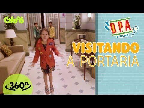 D.P.A.: Detetives do Prédio Azul  O Filme  Visitando a Portaria  Conteúdo 360º  Gloob