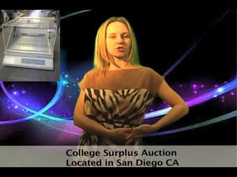 San Diego Community College Surplus Online Auction