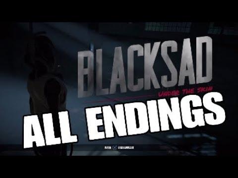 Blacksad Under the Skin: all endings