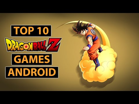 TOP 10 DRAGON BALL Z Games For Android 2020 | High Graphics