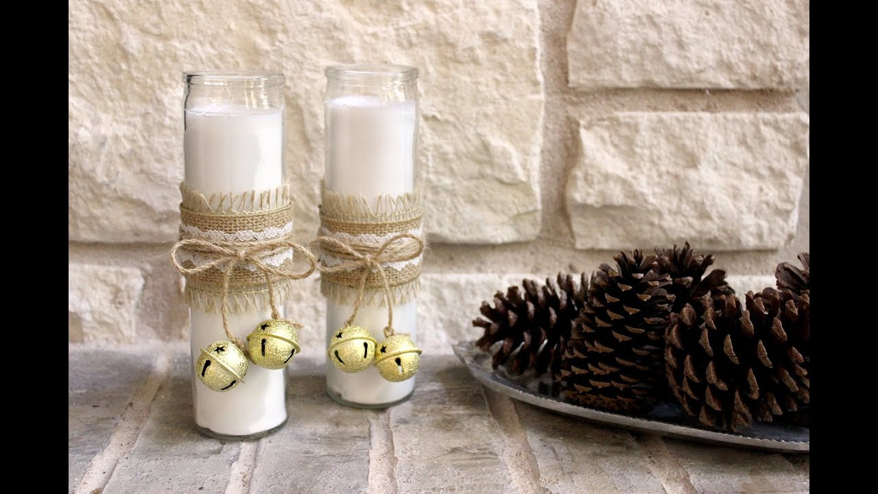 2 Minute Decorative Candles with Bells fast