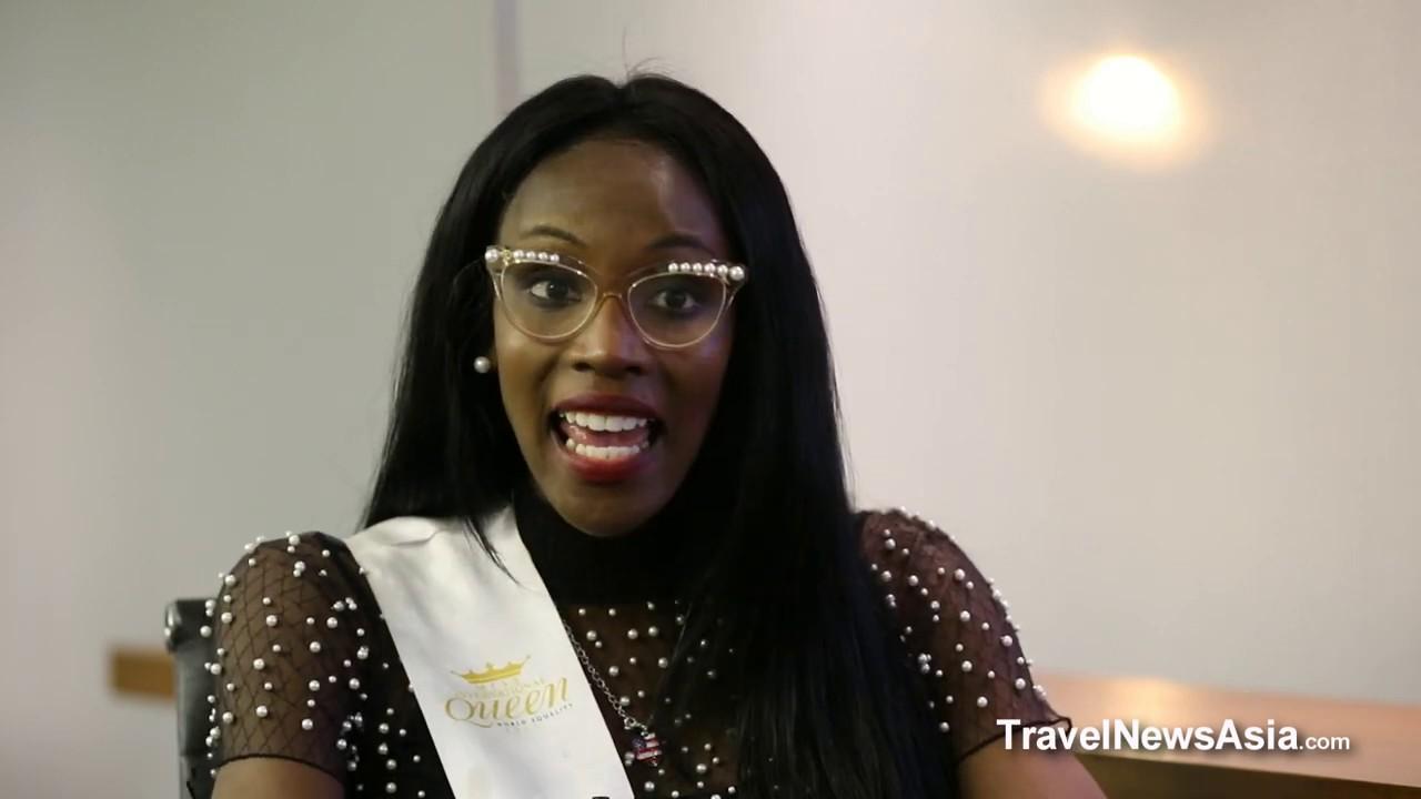 Miss USA - Jazell Barbie Royale - Miss International Queen 2019 Interview