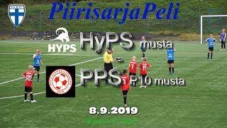 Piirisarja P10 HyPS Musta vs PPS musta P10 8.9.2019