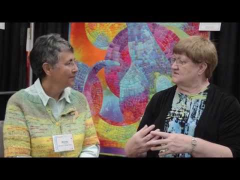 Melody Johnson - All Color, All the Time - 2014 AQS QuiltWeek® Chattanooga