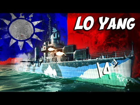 CHINESE WARSHIP SIGHTED! (World of Warships) Lo Yang DD