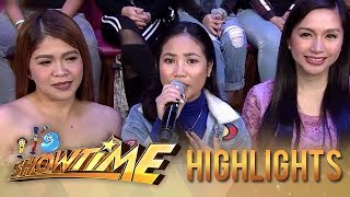 Lie Reposposa sings for the madlang people | It's Showtime