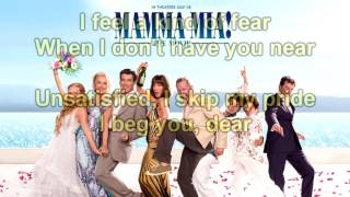 Mamma Mia The Movie Soundtrack: Lay All Your Love on Me (Instrumental/Karaoke) Lyrics