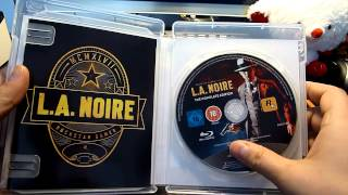L.A. Noire: The Complete Edition Unboxing (PS3)