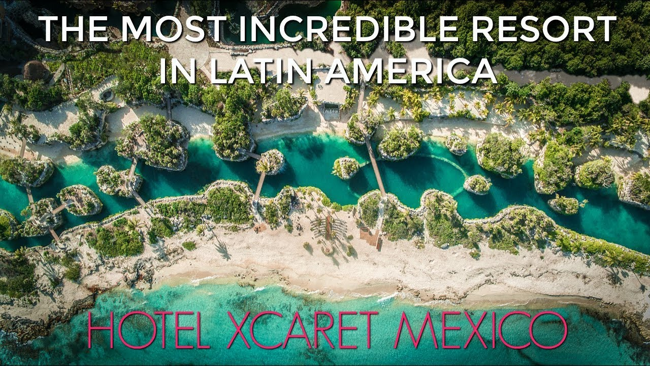 Hotel Xcaret Mexico All Inclusive Luxury Resort in the Riviera Maya - YouTube