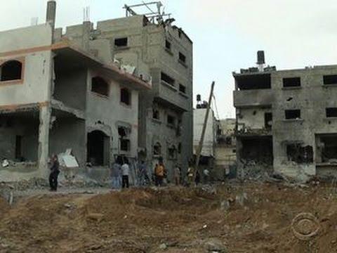 One Israeli air strike kills 18 in Gaza Strip