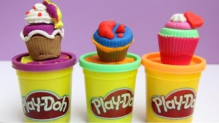 Play Doh Tupperware Cupcakes Playdough Desserts Cupcake Tower Baking Station Hasbro Toys