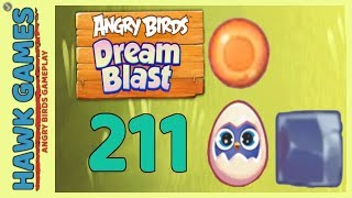 Angry Birds Dream Blast Level 211 - Walkthrough, No Boosters